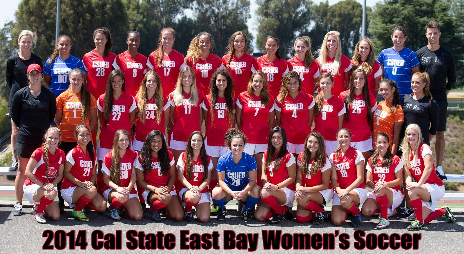 2014 0 Roster Cal State East Bay University Athletics