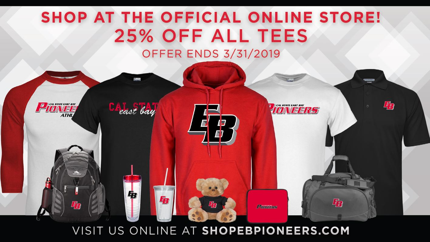 a3803cfa4e6 Cal State East Bay Athletics Launches Official Online Store - Cal ...